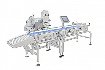 Automatic weighing and labeling line LVM-80